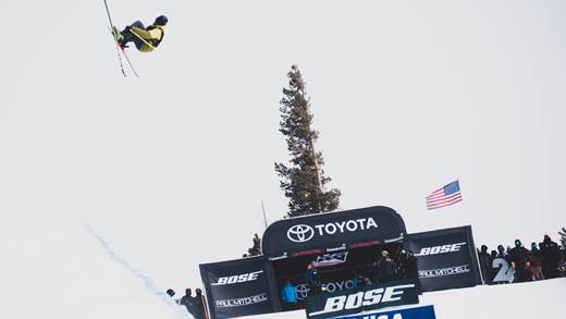 Andreas Gohl Halfpipe in Mammoth