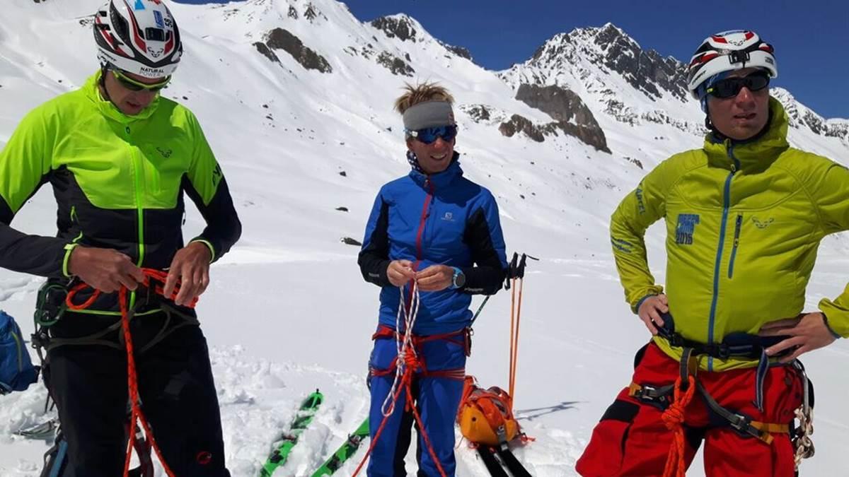 Instruktor-Wettkampf-Skibergsteigen-Seiltechnik